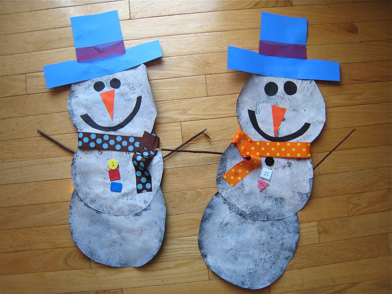 snowman craft mommyapolis. Black Bedroom Furniture Sets. Home Design Ideas
