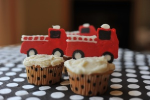 Fire Truck Birthday Party | mommyapolis