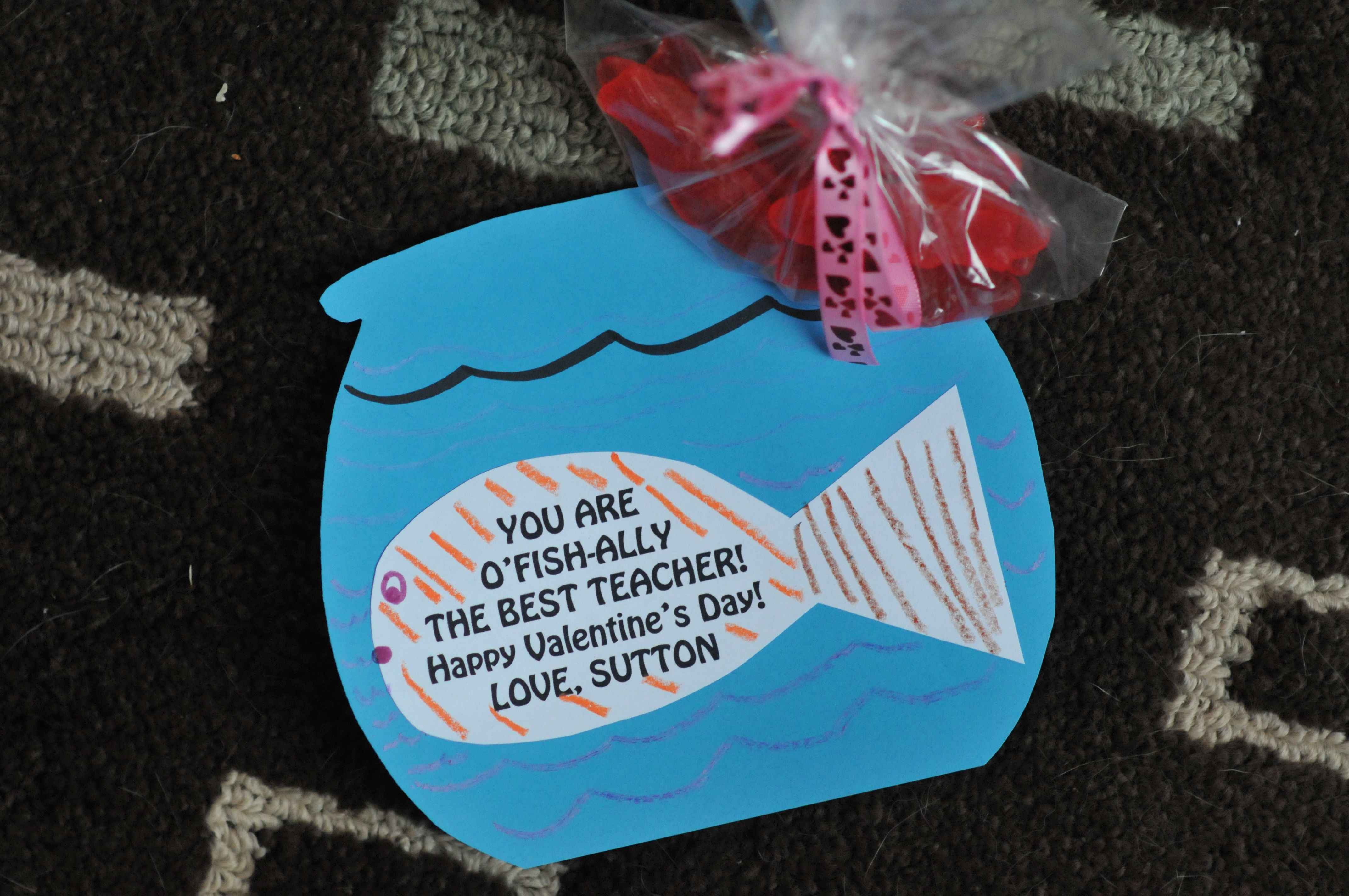Fish Valentines DIY